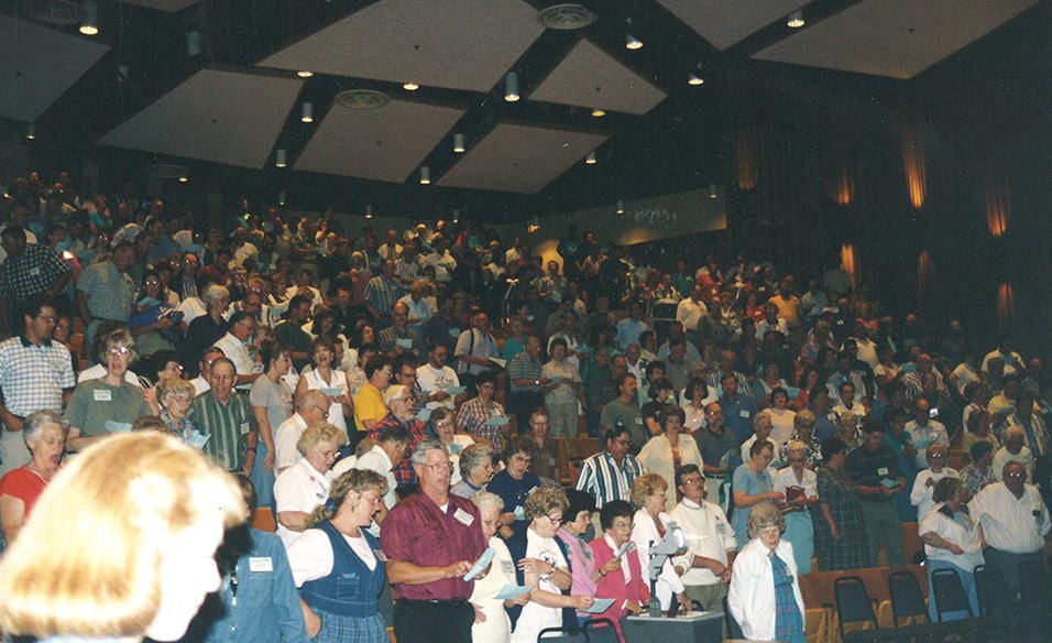 Many Village Missionaries attended the 50th Anniversary of Village Missions.