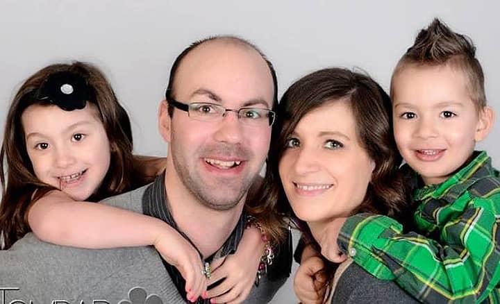 Joe & Laura Letourneau and their 2 children