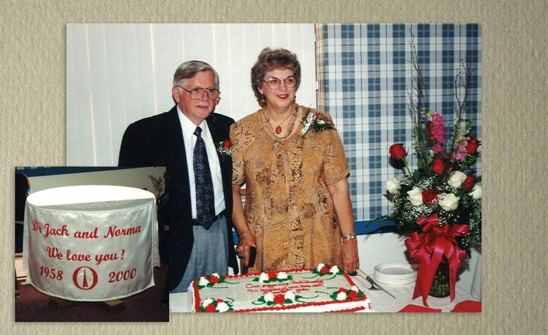 Retirement celebration for Dr. Jack and Norma Canady
