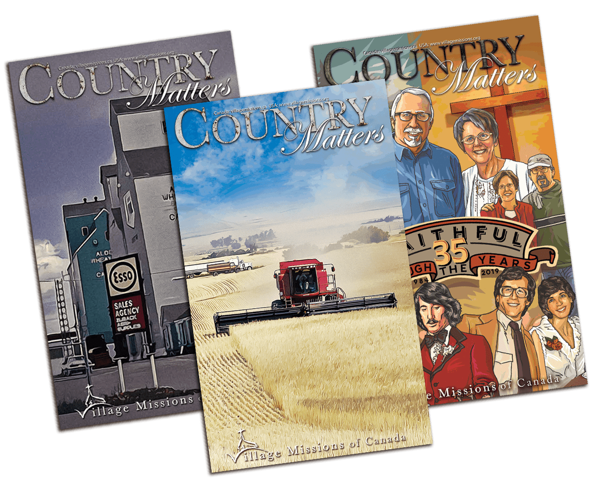 Country Matters display